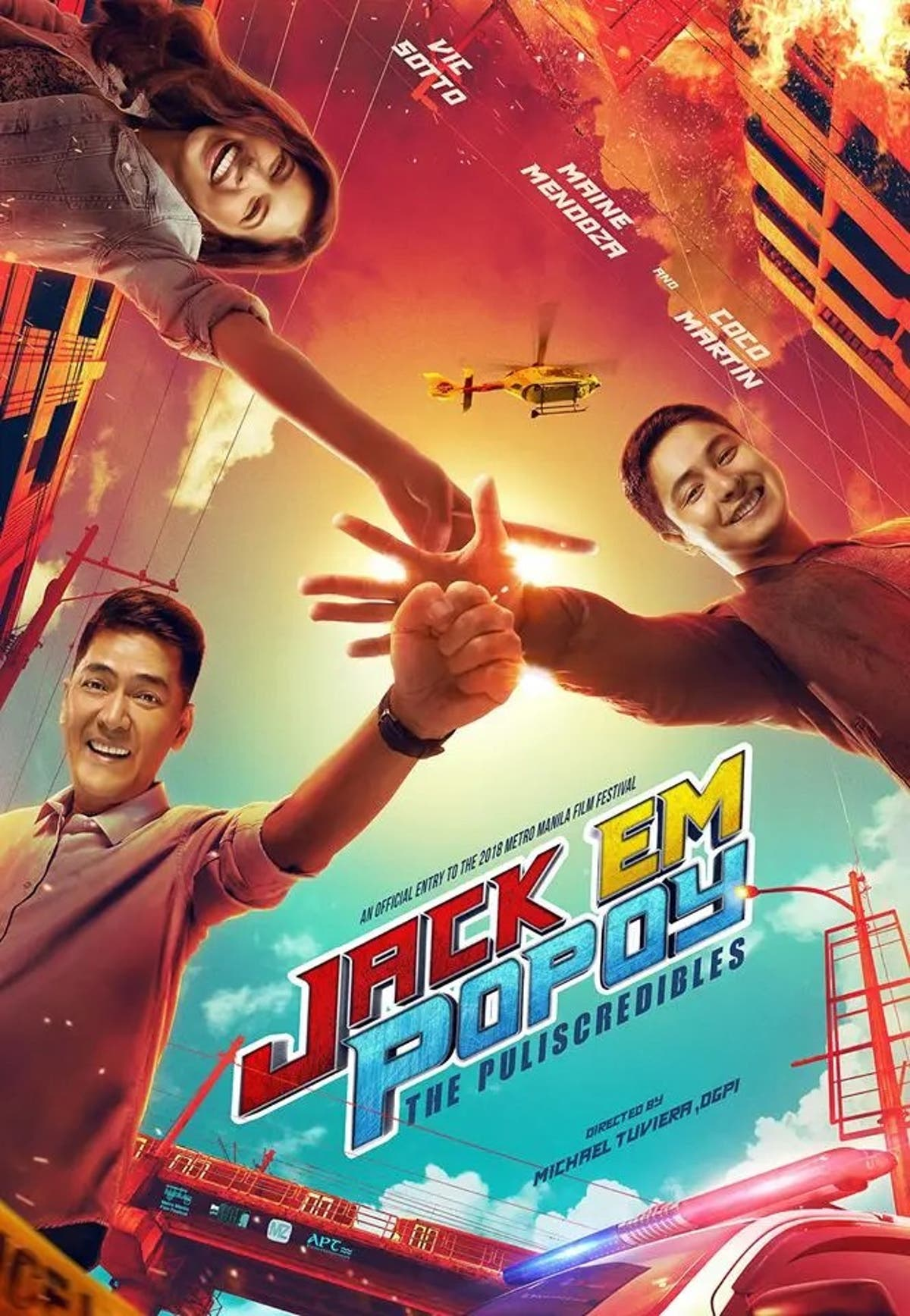 Jack Em Popoy The Puliscredibles Official Movie Poster Starmometer