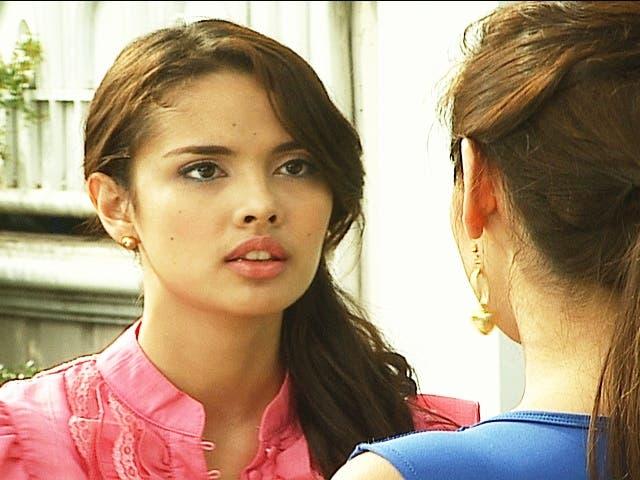 Megs (Niña) reveals to Bea (Megan) that she is pregnant 2.jpg