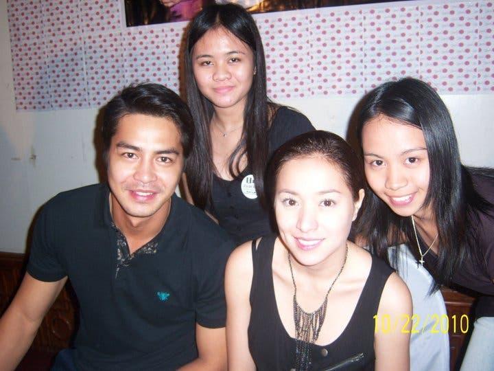 Zantine with fans