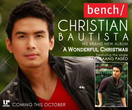 Christian Bautista Releases Christmas Album called 'A Wonderful ...