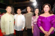 Emil Yap, Herbert Bautista, Charo Santos Concio, Joy Belmonte, and Cory Vidanes