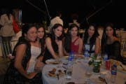 (L-R) Kelly Misa, Isabel Abierra, Jessy Mendiola, Helga Krapf, Empress, and Lauren Young