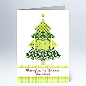 warm christmas greetings from hallmark  starmometer, Greeting card