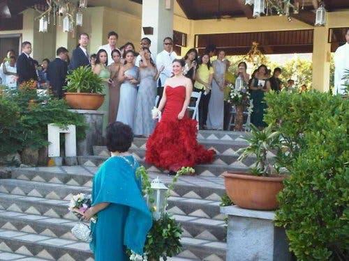 Ogie and regine wedding