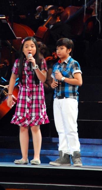Sharlene San Pedro and Nash Aguas