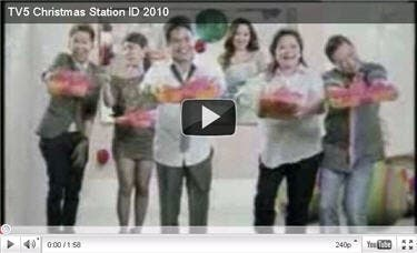 TV5 Releases Christmas 2010 Station ID | Starmometer