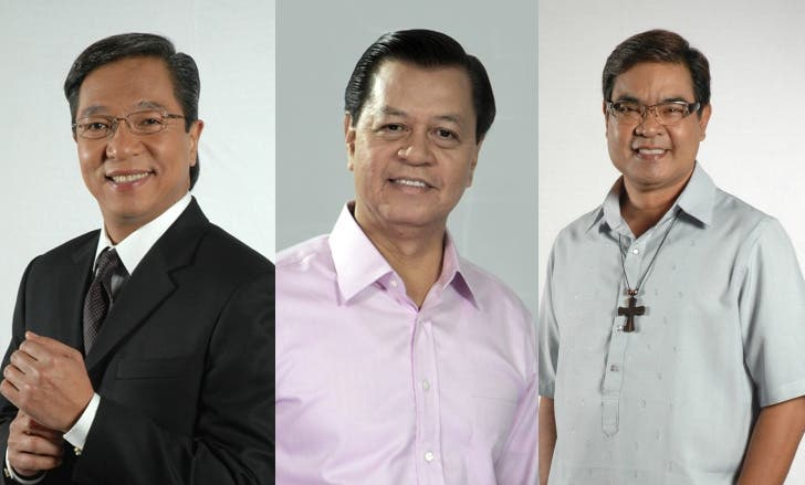 Ted Failon, Noli De Castro, Jun Banaag