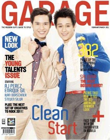Enrique gil magazine cover