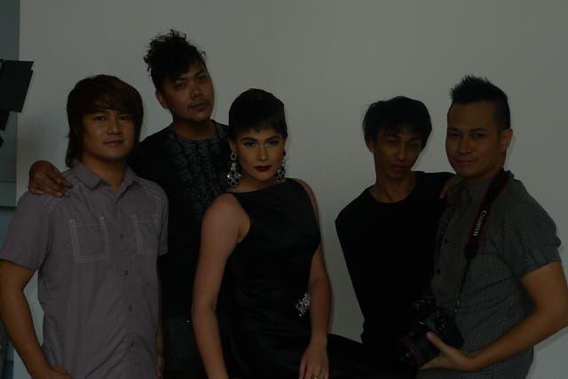 Bea Alonzo and creative team