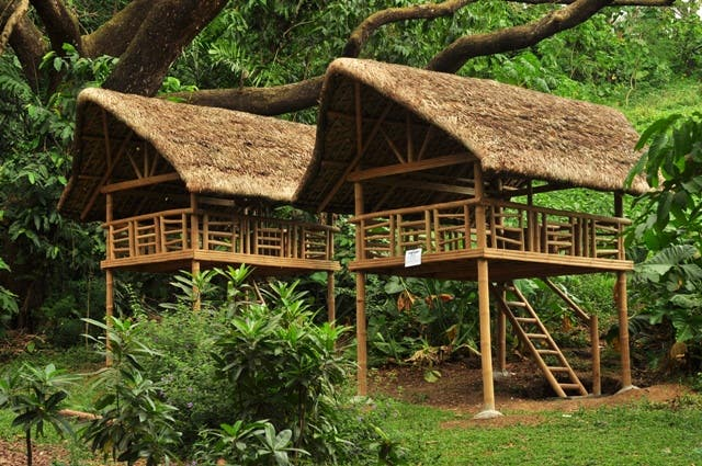 Cabanas at the la mesa ecopark starmometer - La mesa eco park swimming pool photos ...