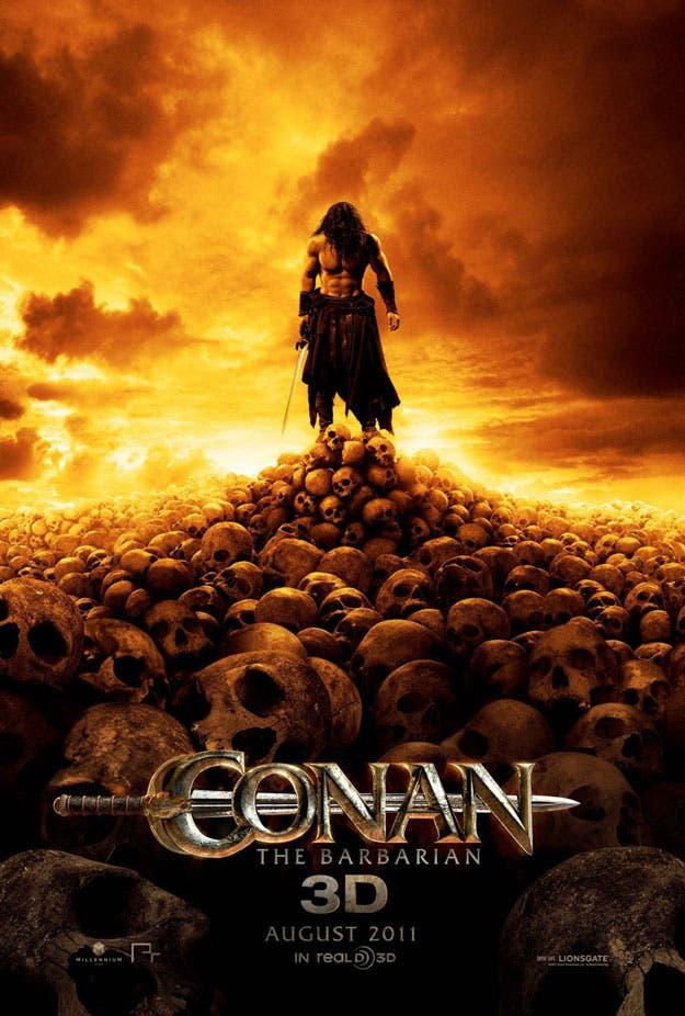 conan the barbarian movie poster. #39;Conan the Barbarian#39; – Movie