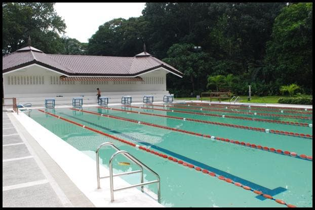 The Six Lane Olympic Size Swimming Pool 2 Starmometer