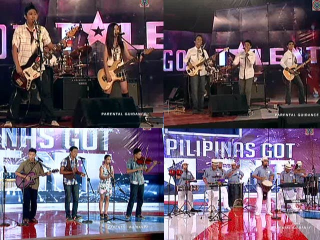 bands in PGT