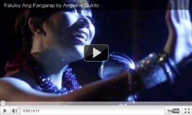 Angeline Patuloy ang Pangarap MV
