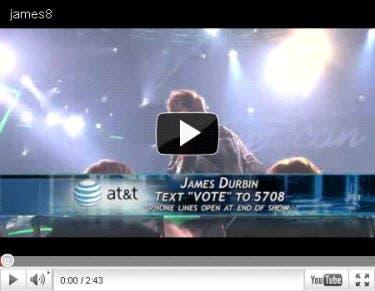 James Durbin Top 8