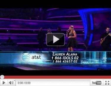 Lauren Top 8