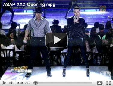 ASAP XXX Opening Number Video