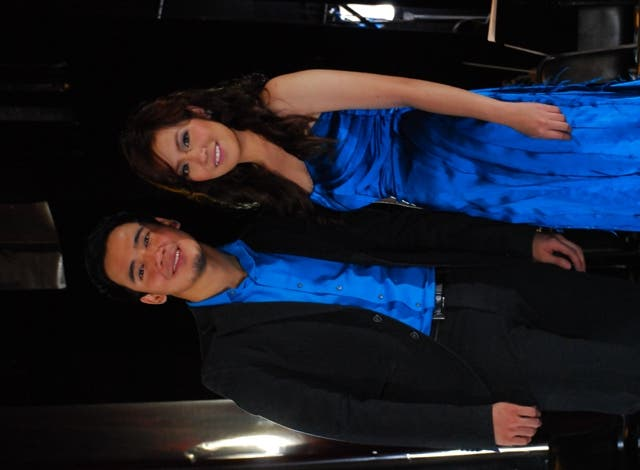 Erik Santos and Angeline Quinto are featured in DZMM's 25th anniversary station jingle and music video