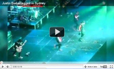Justin Egg Attack Video