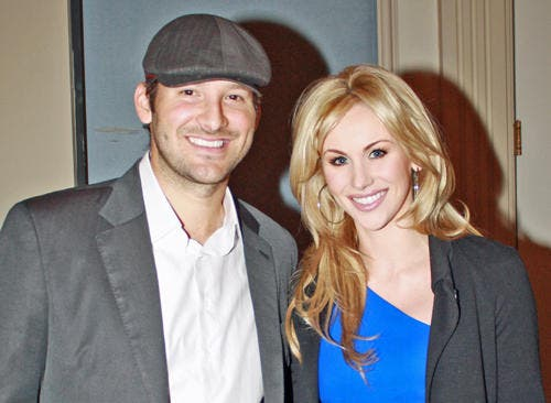 candice crawford wedding. Tony Romo and Candice Crawford