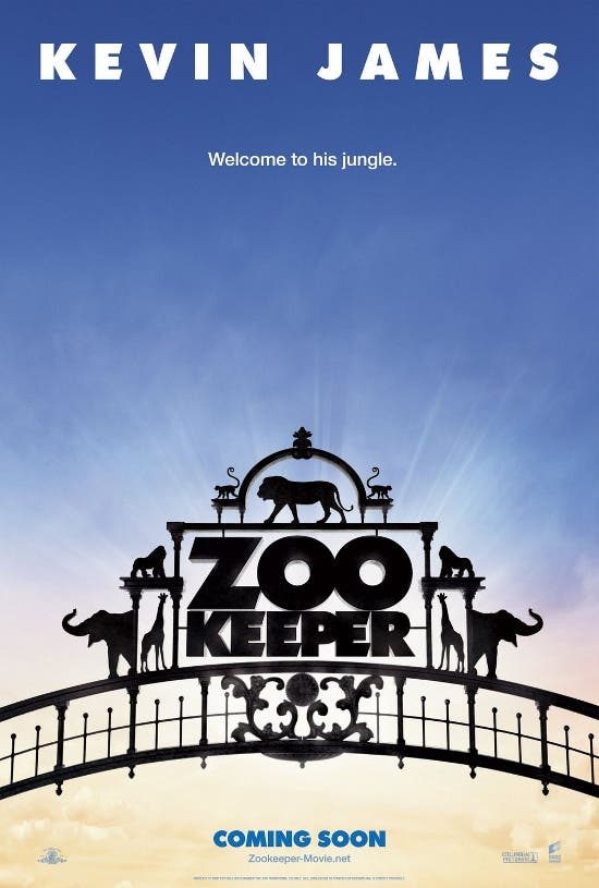 Zookeeper – Movie Poster and Trailer | Starmometer