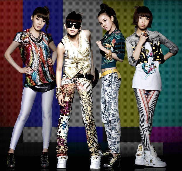 2ne1 Arrives In Manila Mobbed By Filipino Fans Starmometer