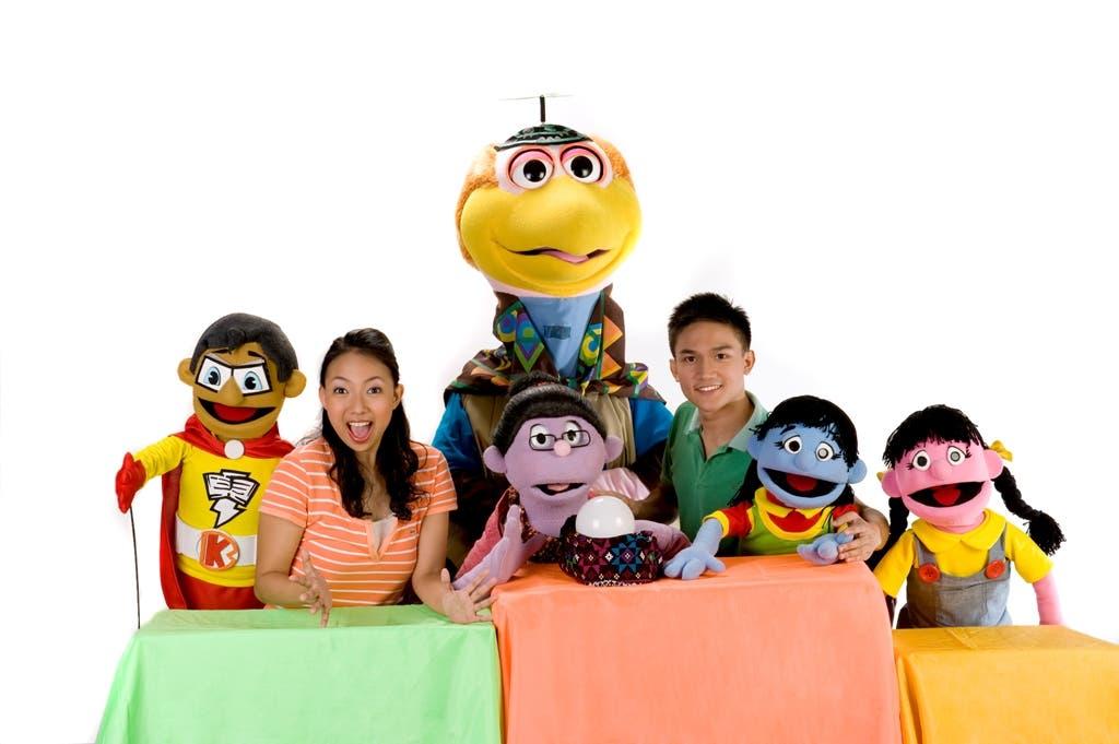 Batibot's muppets, hosts and Koko Kwik Kwak