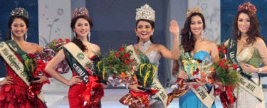 Miss Philippines Earth Top 5