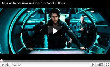 Mission Impossible 4 Trailer