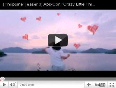 """original movie trailer of """"Crazy Little Thing Called Love"""" here"""