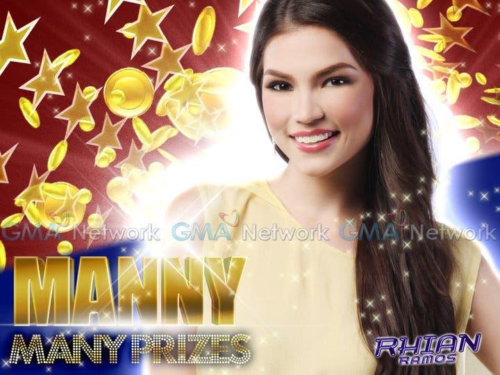 Manny Many Prizes Rhian Ramos