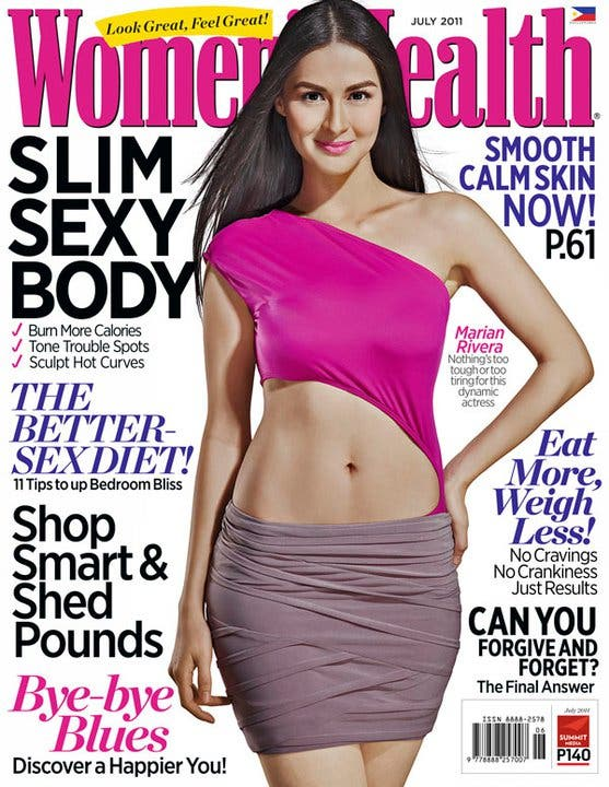 Marian Rivera - Womens Health July