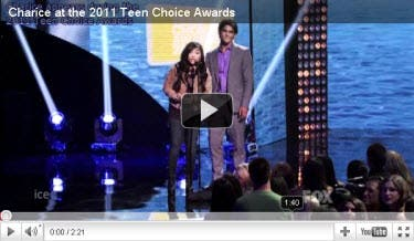 Charice Teen Choice with Tyler Posey