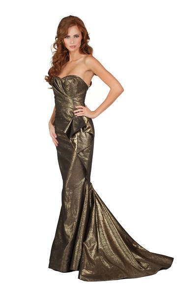 Miss Universe 2011 – Top 10 Evening Gown Portraits | Starmometer ...