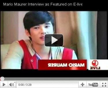 mario maurer interview