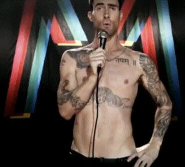 a3793bb985 Maroon 5 Feat. Christina Aguilera –  Moves Like Jagger  Music Video ...