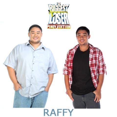 Biggest loser--RAFFY--Before & After