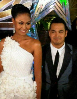 Star Magic Ball 2011 - Venus Raj and Andrei Felix