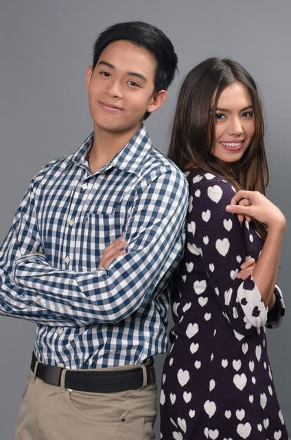 Diego Loyzaga and Julia Montes