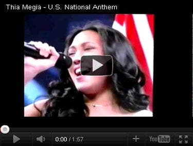 Thia US Anthem Video