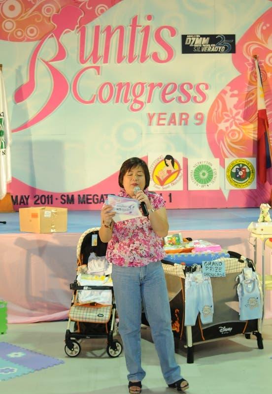 Winnie Cordero---DZMM Congress Buntis at SM Megamall