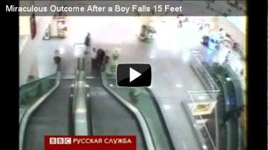 Boy Falls Video