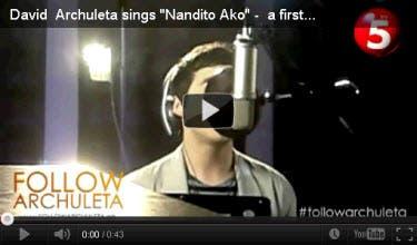 Nandito Ako - YouTube Music Videos