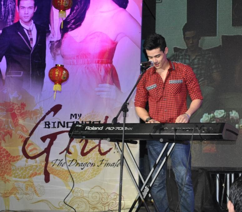 My Binondo Girl 'love day'_Xian's live piano performance