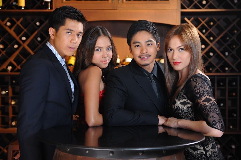 Walang Hanggan young stars Paulo Avelino_Julia Montes_Coco Martin_and Melissa Ricks