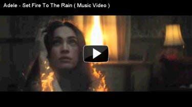 Adele Set Fire to the Rain MV