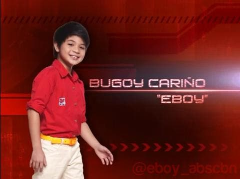 Bugoy Carino bilang si E-Boy