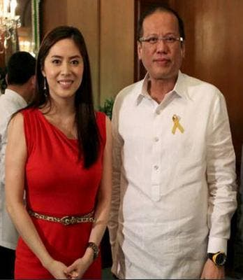Grace Lee and President Noy