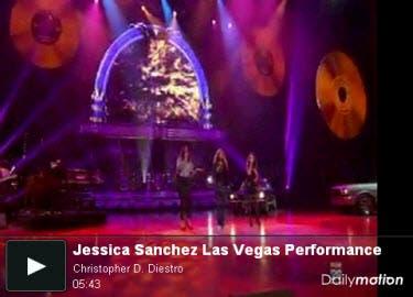 Jessica Sanchez Las Vegas