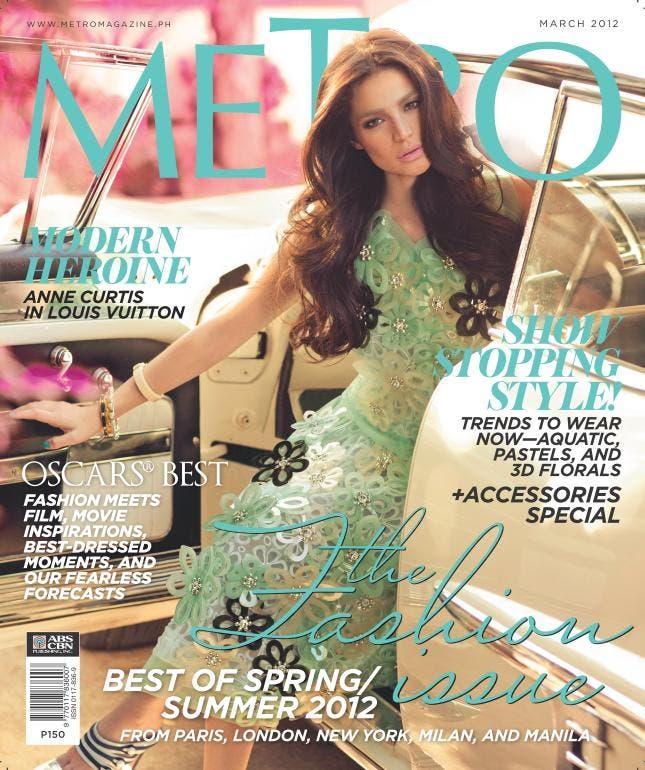 Anne Curtis Metro Magazine